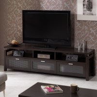Furniture of America Espresso Mistell Modern Entertainment ...