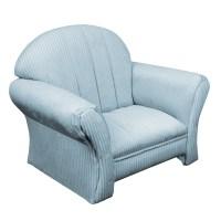 Komfy Kings Kids Classic Chair - Blue Corduroy