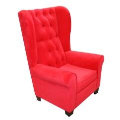 Red High Back Chair Fishing Bed Nash Komfy Kings Kids Mirage Velvet