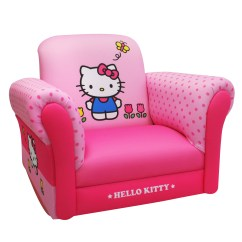Hello Kitty Chairs Hanging Chair Swing Sanrio Kids Tulips Deluxe Rocker Multicolor