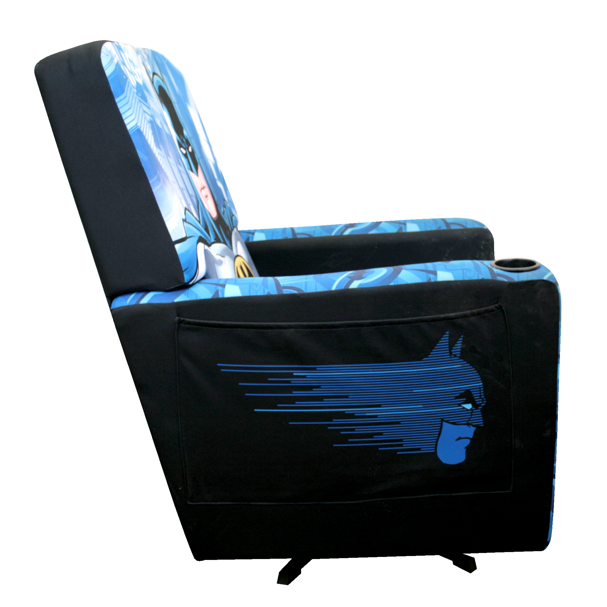 adult gaming chair wheelchair jingle bell rock warner brothers batman animated classic hero multicolor polyester