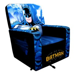 Adult Gaming Chair Baby Chairs For Table Warner Brothers Batman Animated Classic Hero Multicolor Polyester