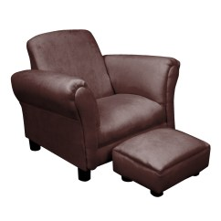 Kids Chair And Ottoman Hairdressing Covers Komfy Kings Classic Deluxe