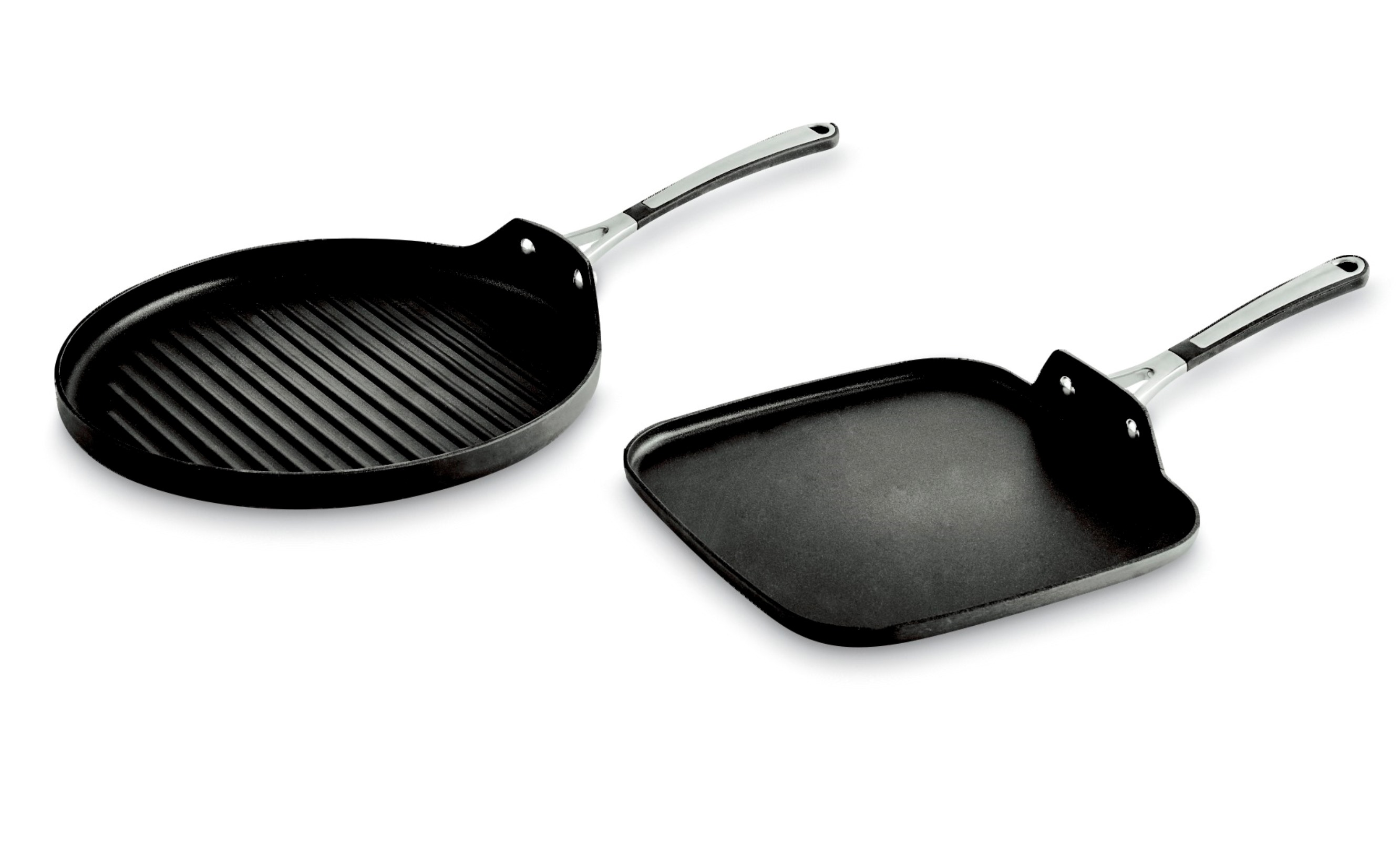 calphalon kitchen outlet base units for sale 13 quot round grill and 11 square griddle value pack