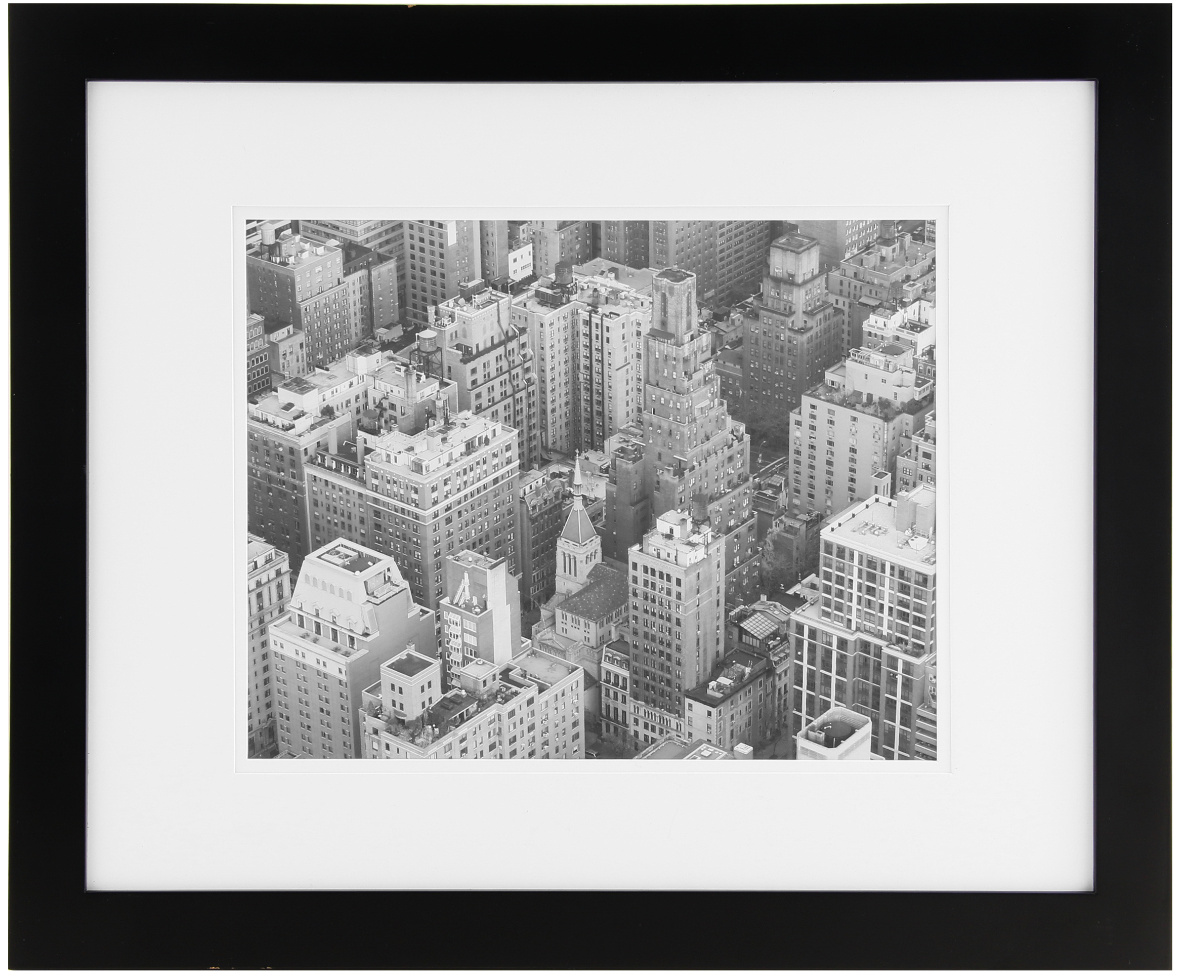 Solutions 16x20 Black Frame Matted 11x14