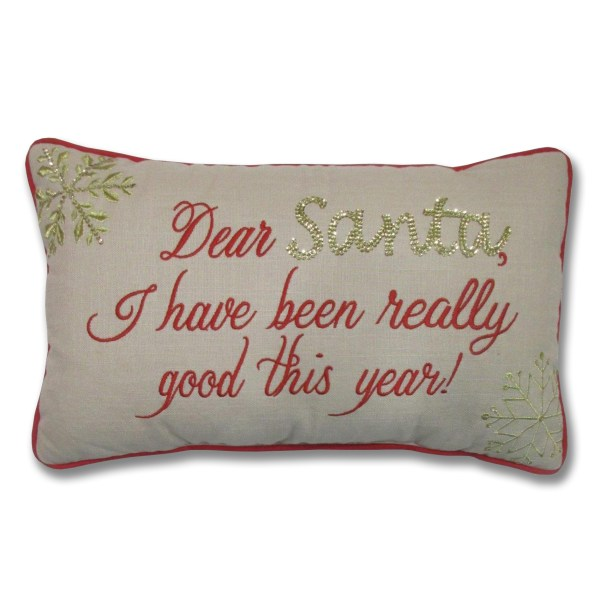 Decorative Santa Pillow