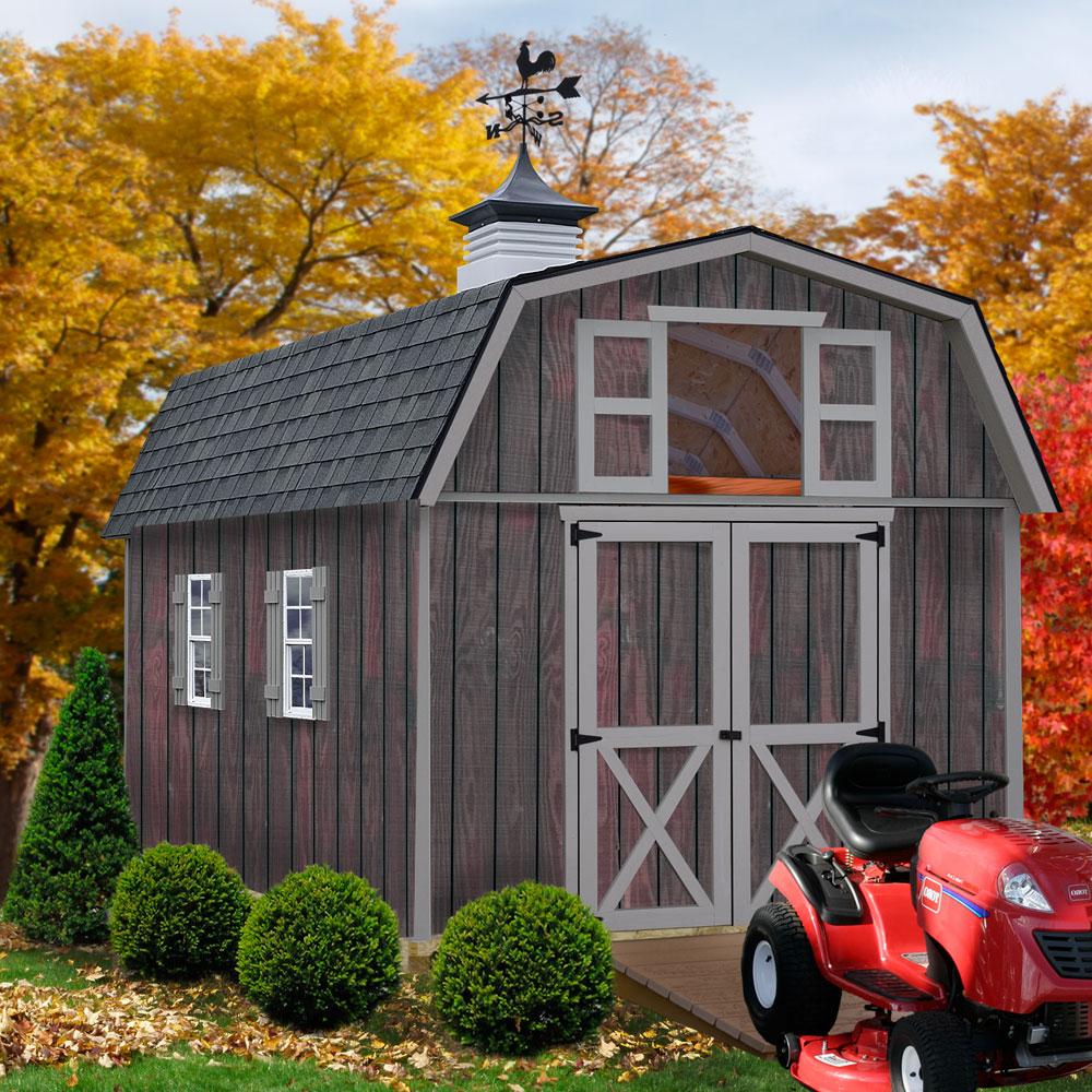 Barns Woodville1012 10' X 12' Woodville Storage Shed Kit