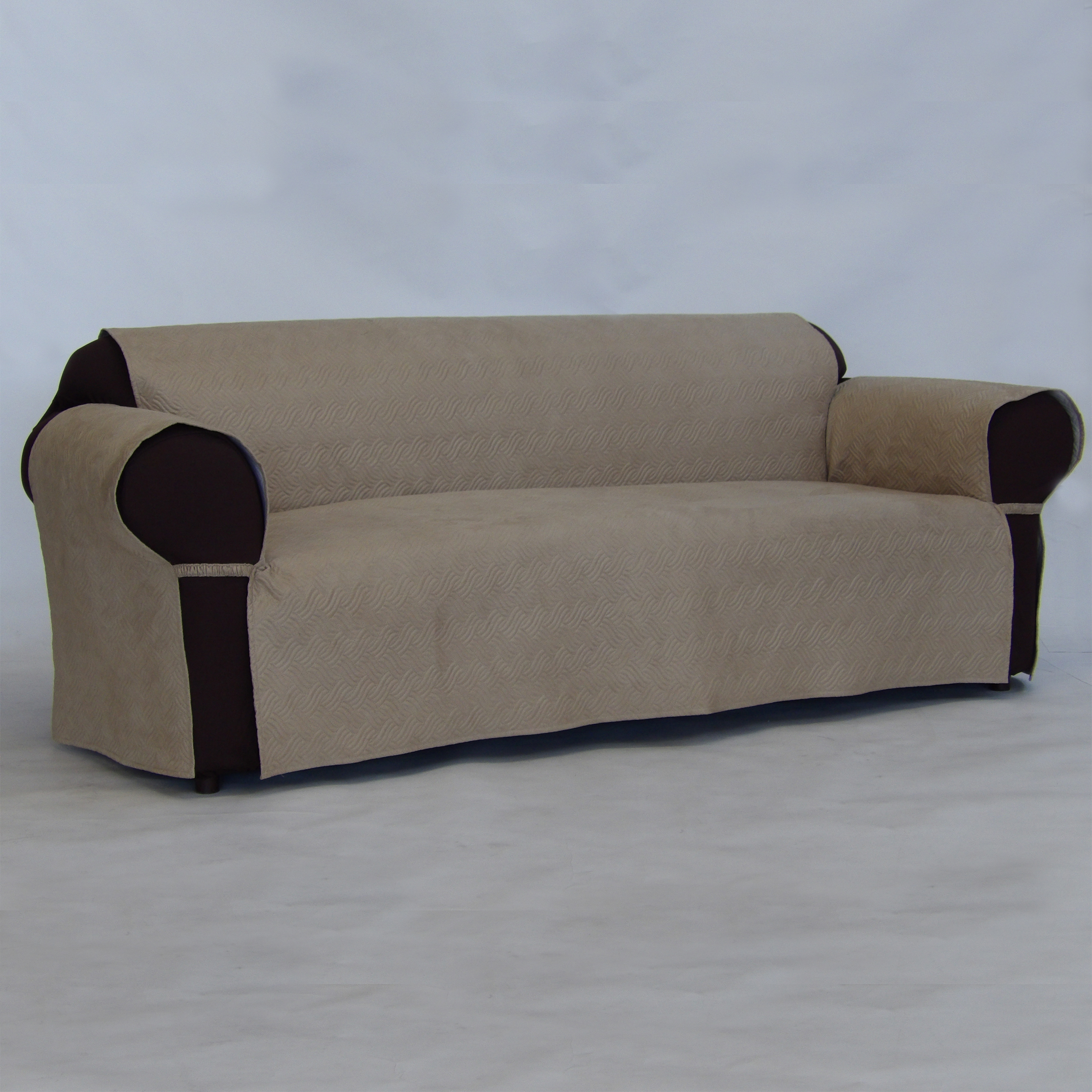 sofa covers at kmart best places to buy sofas quilted pet cover beige tan shop your way online