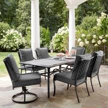 Grand Resort Woodbury 7 Piece Ceramic-top Dining Set