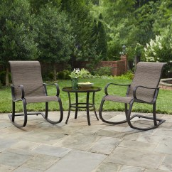 Bistro Table And Chairs Kmart Adirondack Chair With Ottoman Plans 3 Pc Patio Set