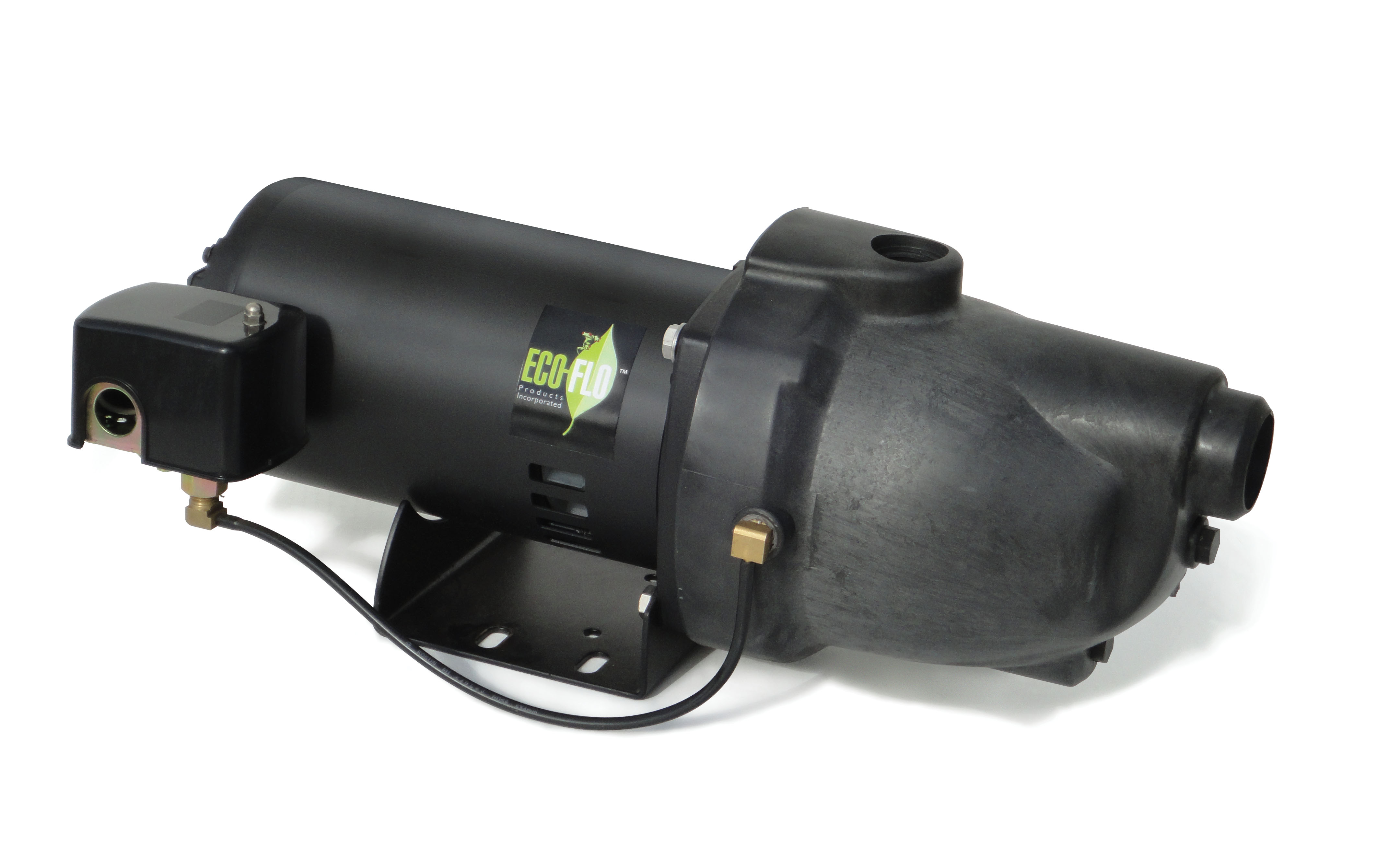 Eco flo 1 2 hp plastic shallow well jet pump tools pumps utility