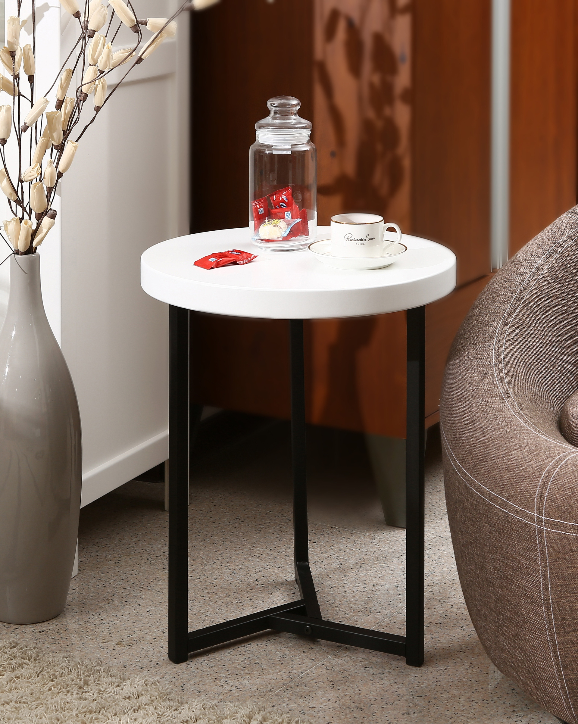 living room end tables painting ideas for with black furniture coffee ready to assemble kmart cannon table