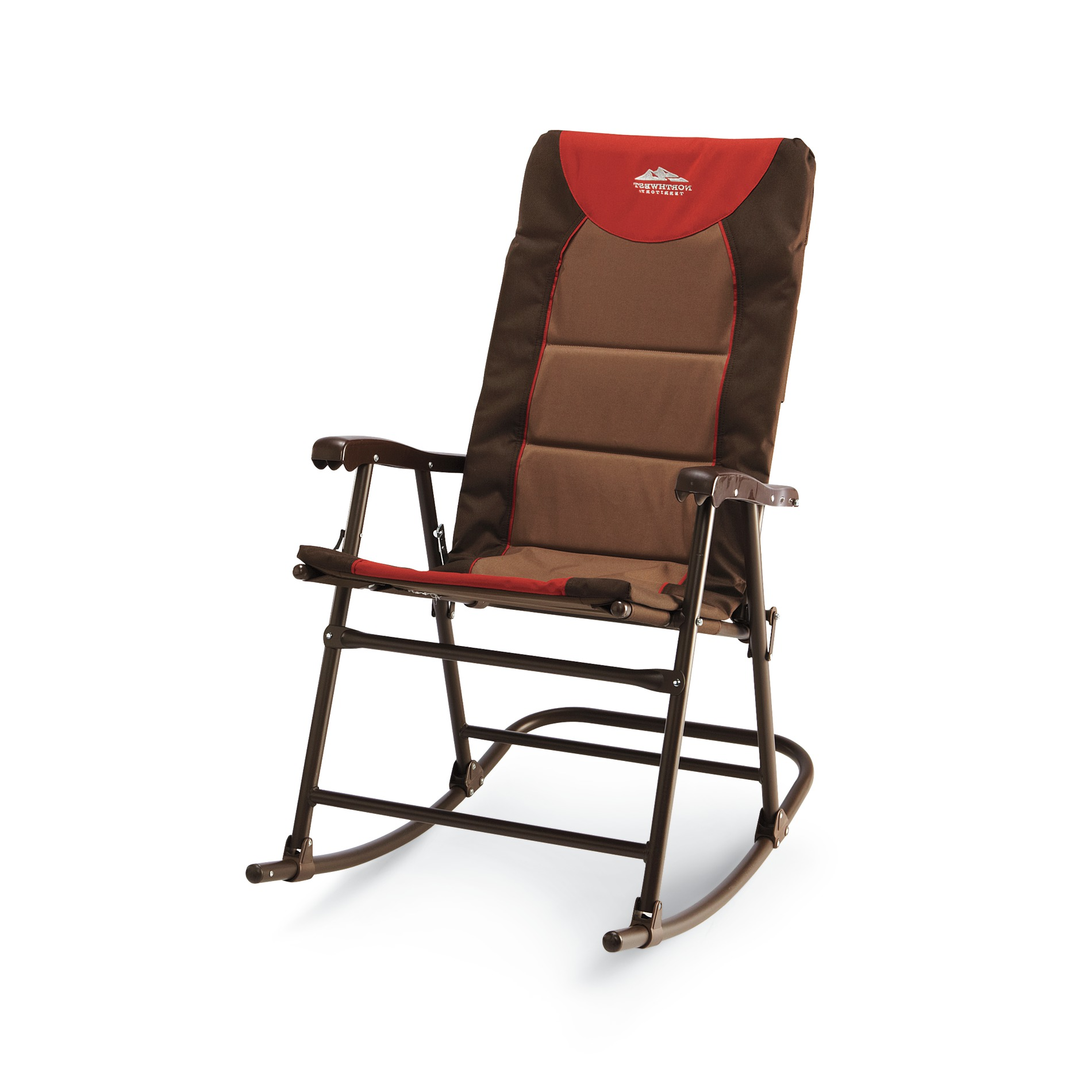 Picnic Chair Rocking Chair Folding Outdoor Camping Patio Comfortable