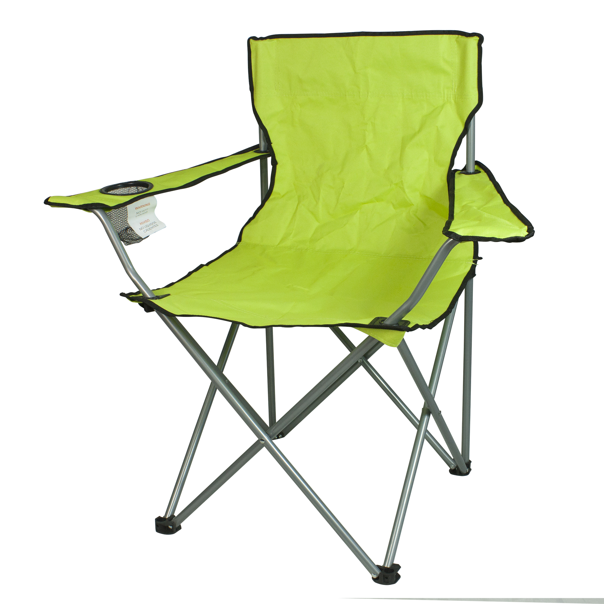 northwest territory chairs folding chair replacement parts camping tables kmart lightweight sports bright lime
