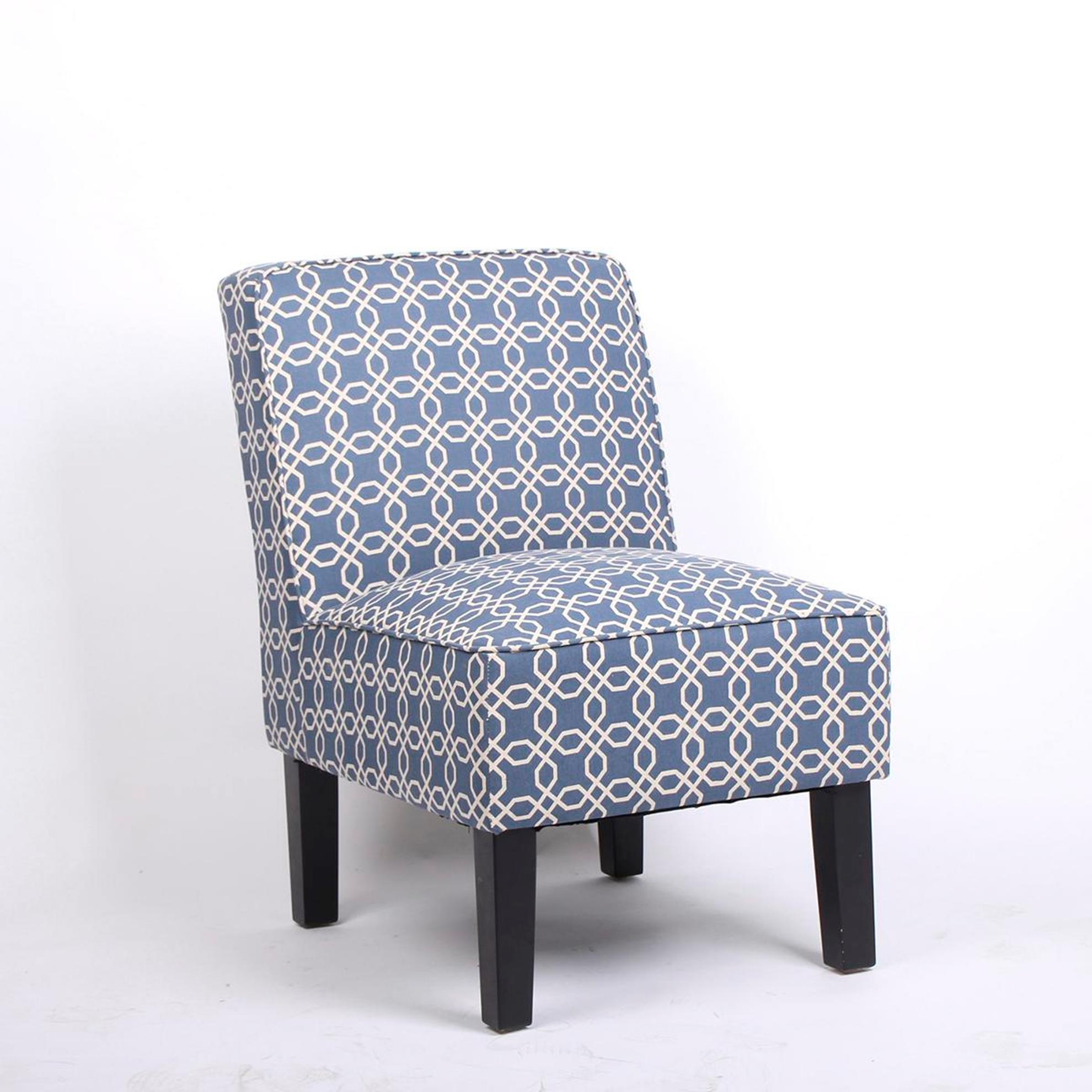 Patterned Chairs Patterned Slipper Chair