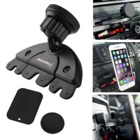 Insten 2130258 Universal Car CD Slot Magnetic Phone Holder ...