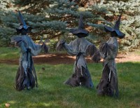 Lawn Witches Halloween Decoration