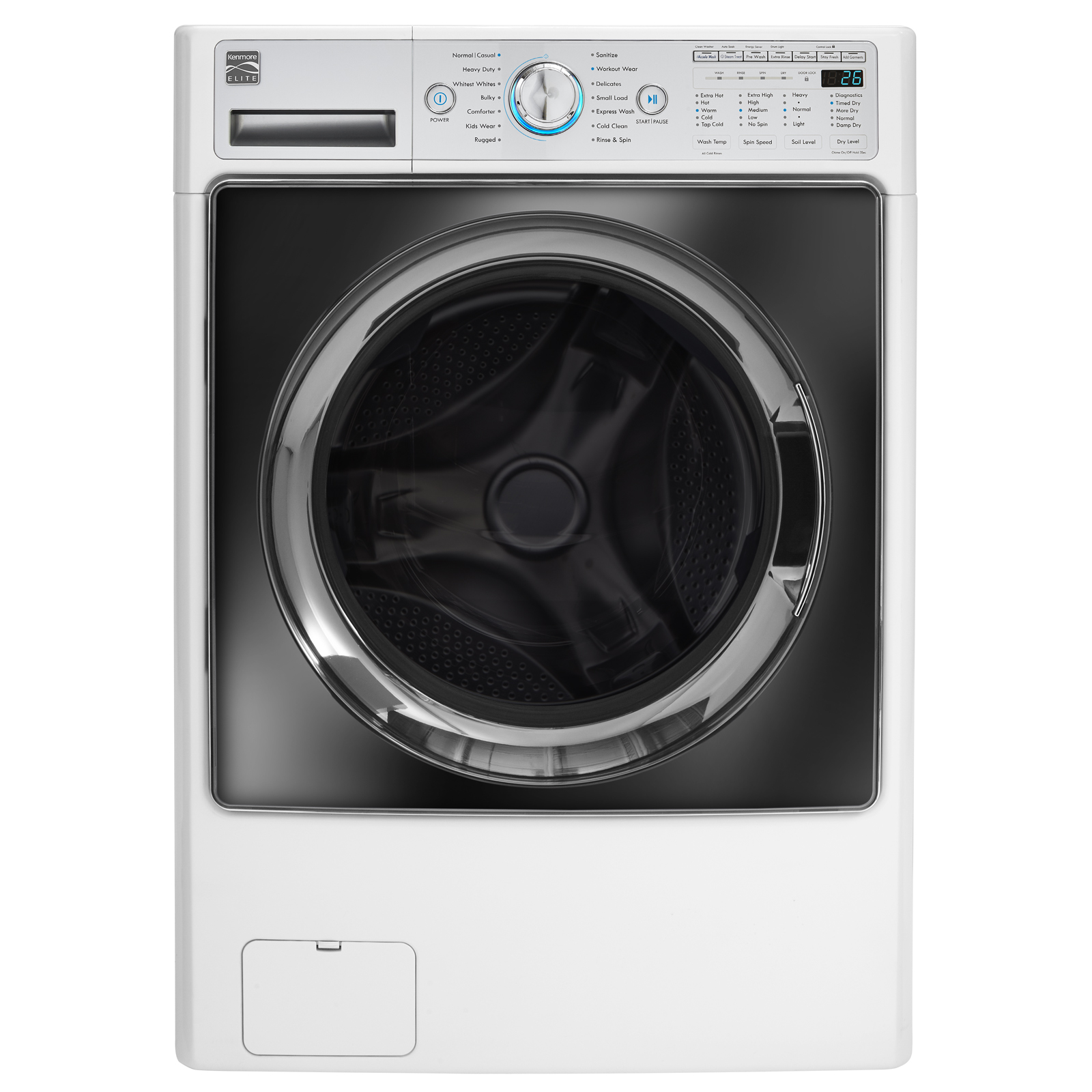 Kenmore Elite 41002 4.5 Cu. Ft. Front-load Combo Washer Dryer - White