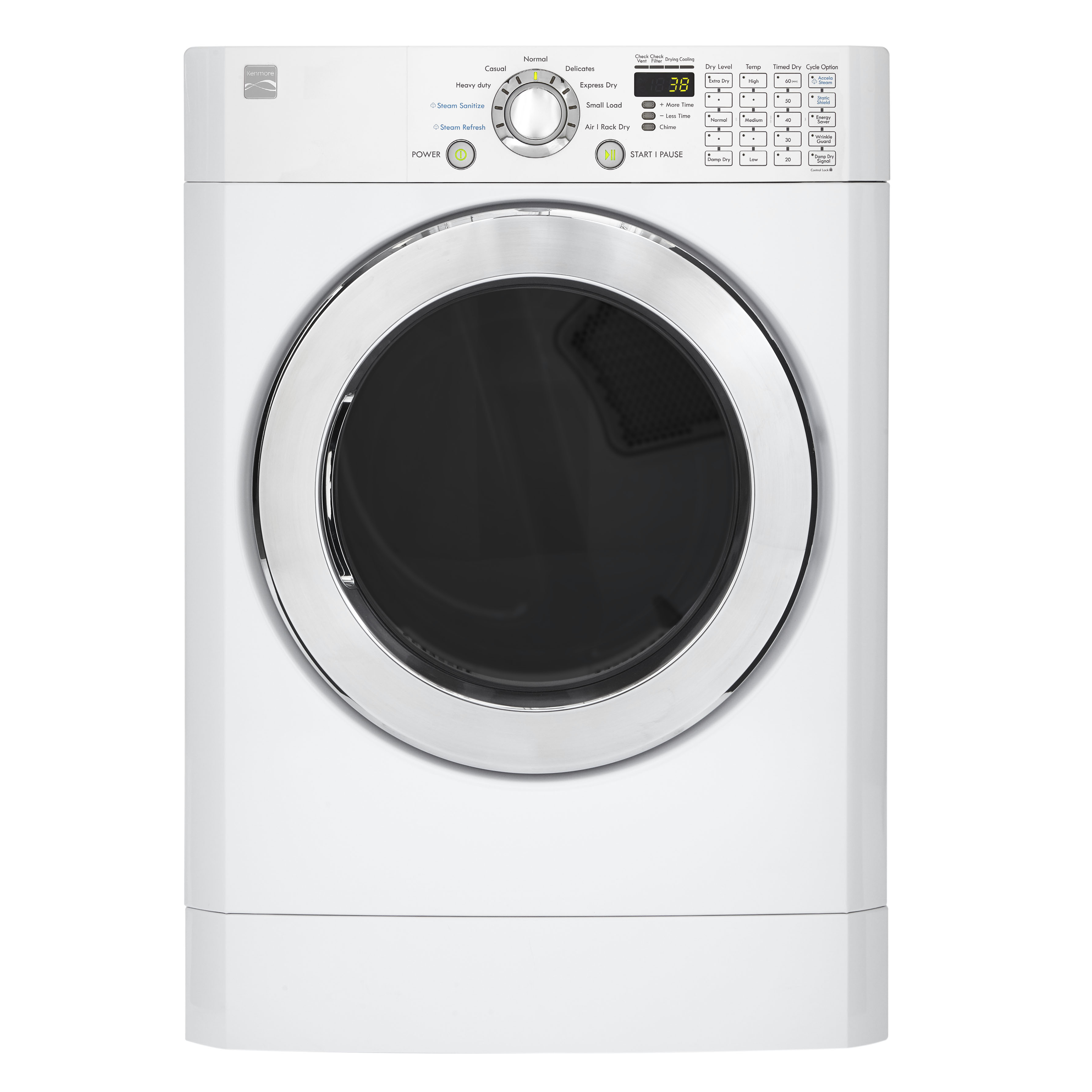 kenmore 91392 7 3 cu ft front load flip control gas dryer white gas dryer i d be happy for any sears gas dryer diagram just to [ 3573 x 3573 Pixel ]
