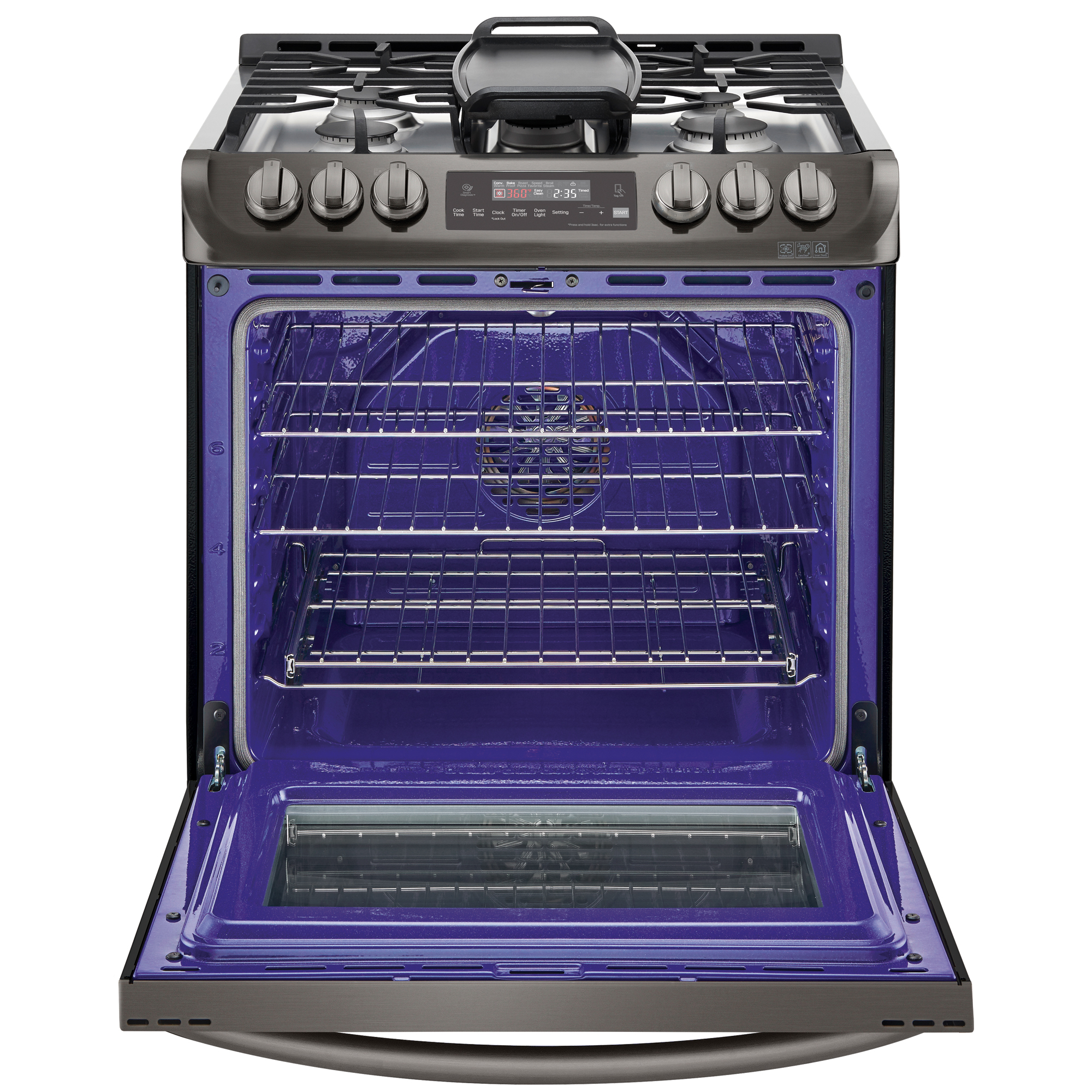 small resolution of lg lsg4513bd 6 3 cu ft gas slide in range with convection black stove top timer lg stove top wiring diagram