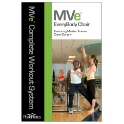 Chair Gym Dvd Set Double Adirondack Chairs With Umbrella Peak Pilates Mve Everybody Workout