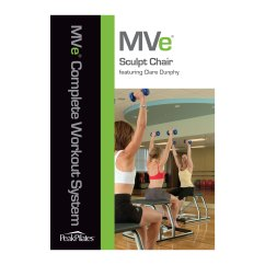 Chair Gym Dvd Set Woven Folding Peak Pilates Mve Sculpt Workout