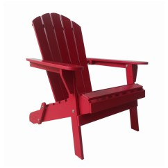 Red Adirondack Chairs Back App Chair Garden Oasis