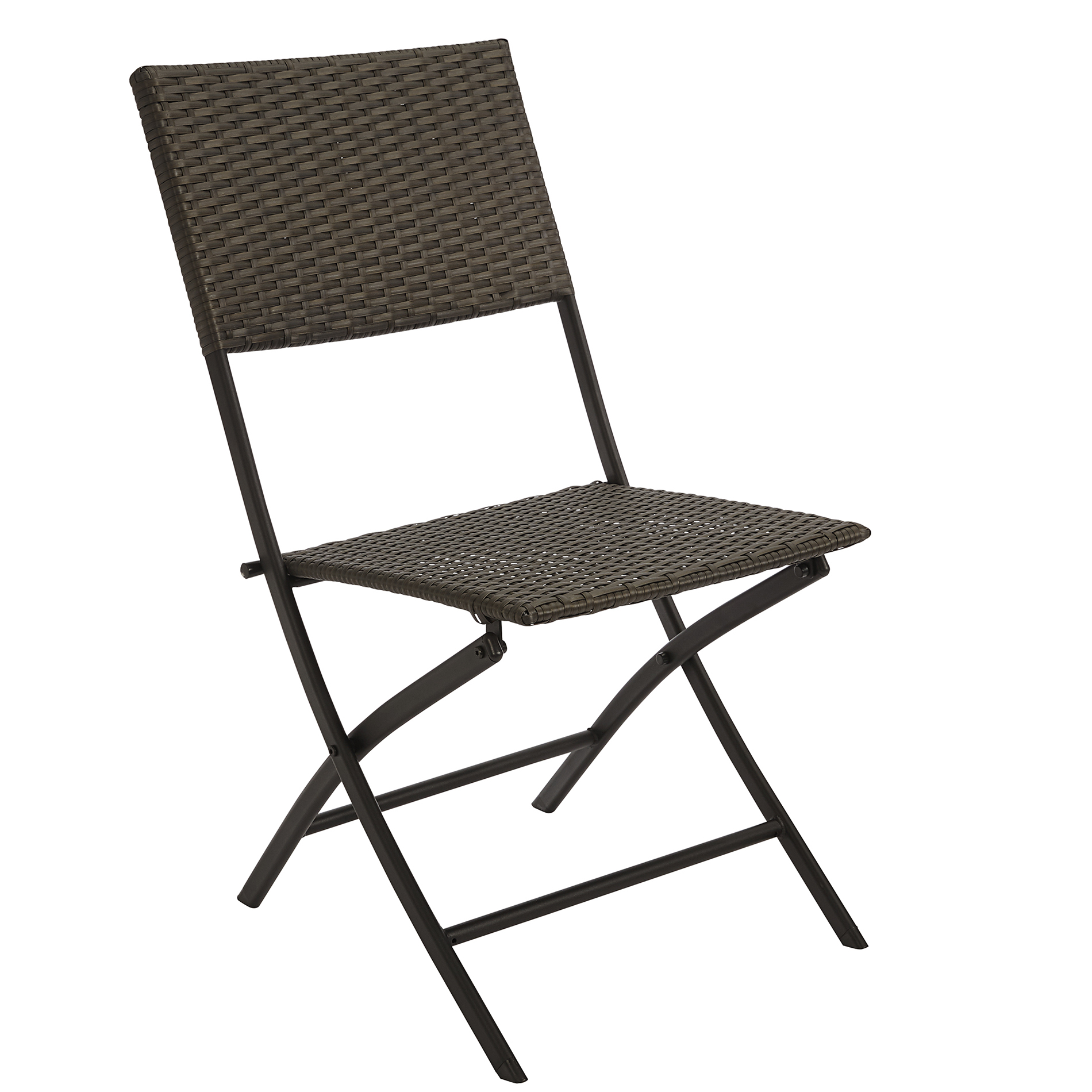 Plastic Folding Lawn Chairs Jaclyn Smith Resin Wicker Folding Chair Armless Chair