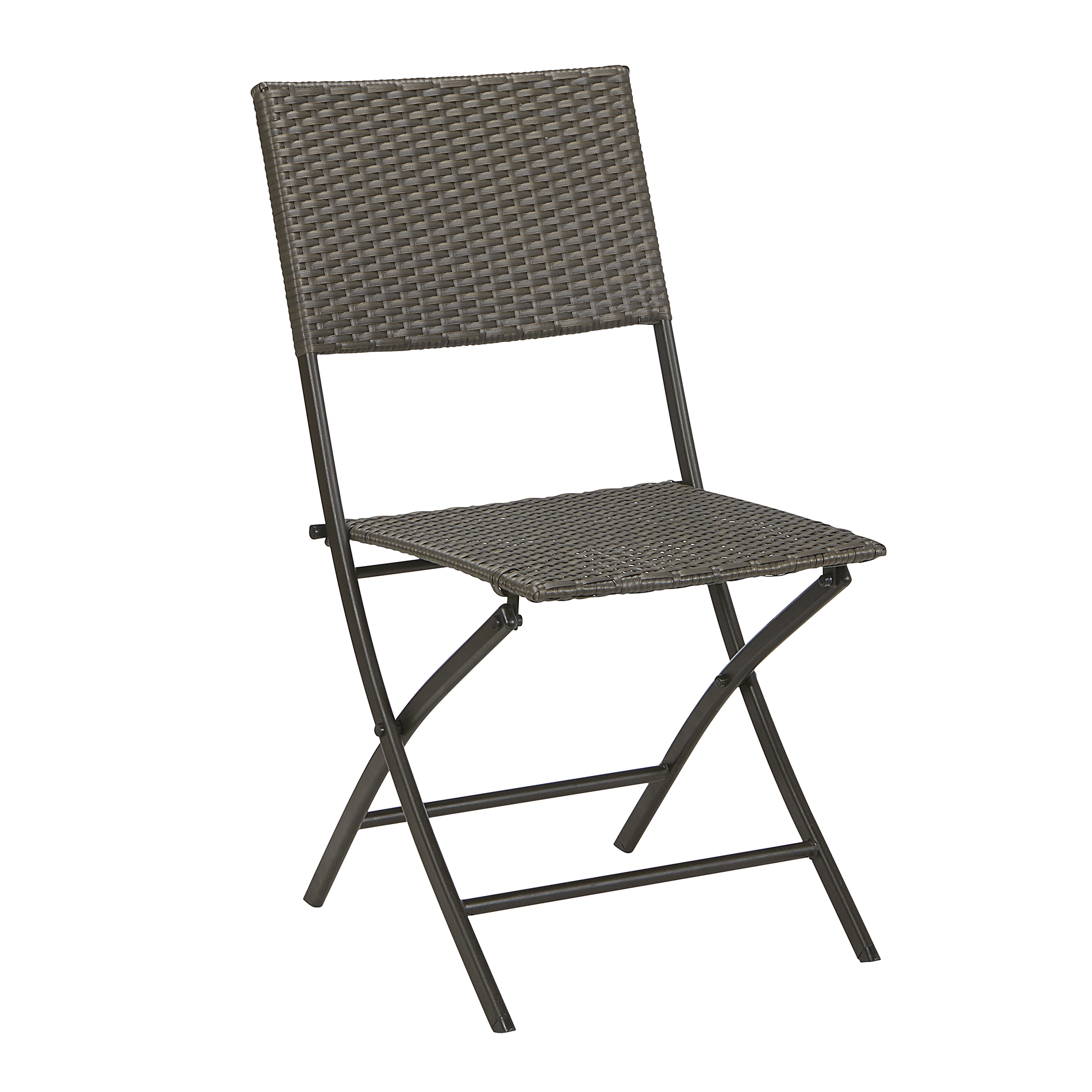 Sears Patio Chairs Garden Oasis Resin Wicker Folding Chair Armless Limited