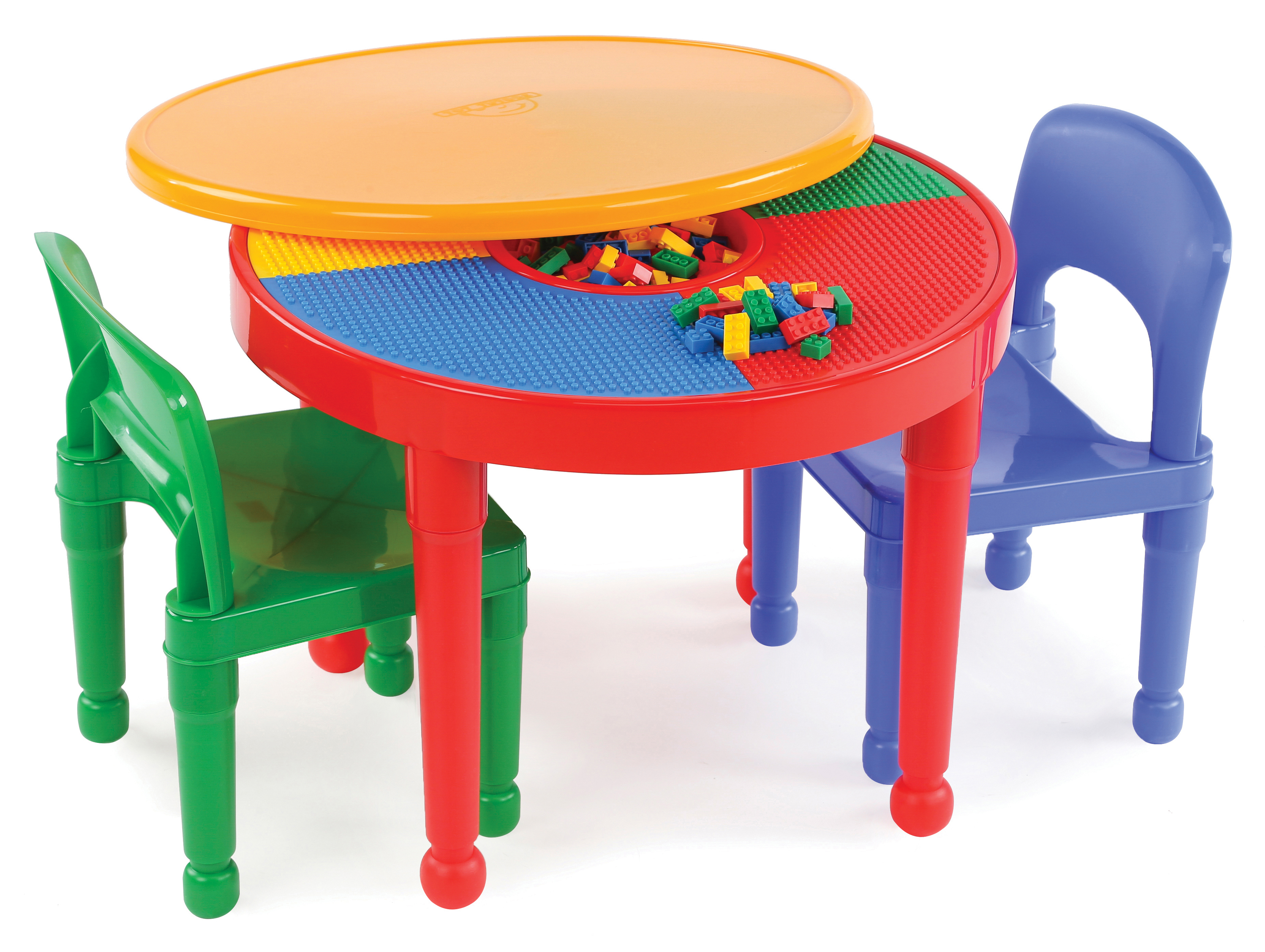 Plastic Table And Chairs For Kids Tot Tutors 2 In 1 Activity Table And 2 Chair Set