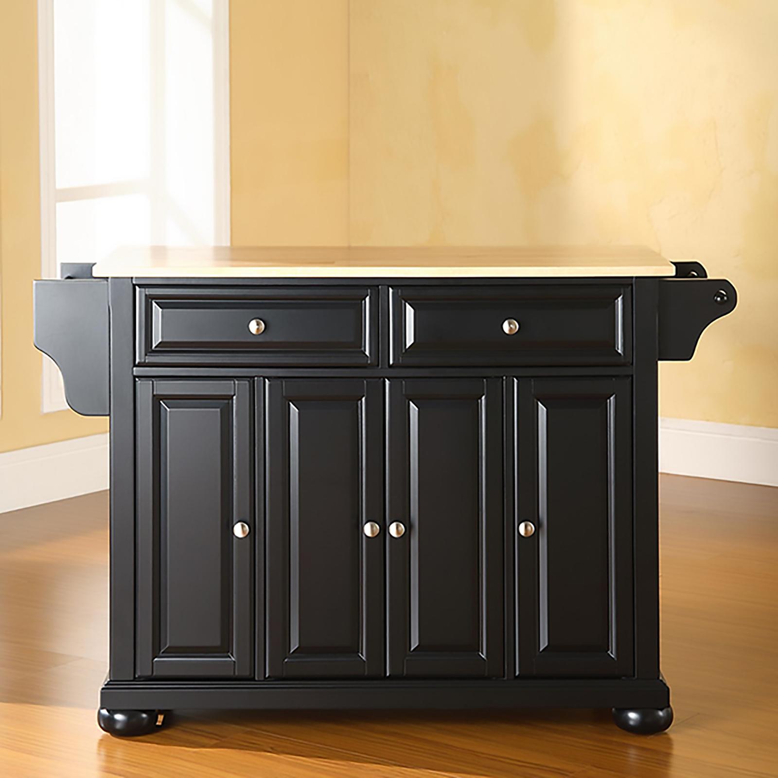 mahogany kitchen island best design software crosley furniture cambridge hardwood vintage
