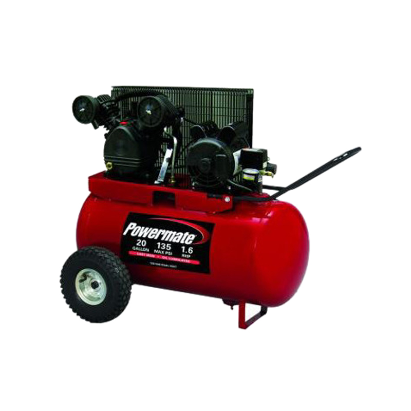Campbell Hausfeld Iron Force Air Compressor 5hp 20 Gallon