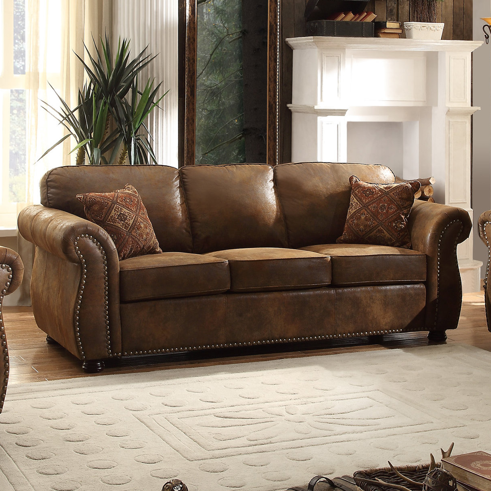 espresso bonded leather reclining sofa loveseat set childs bed chair living room sets   collections - sears