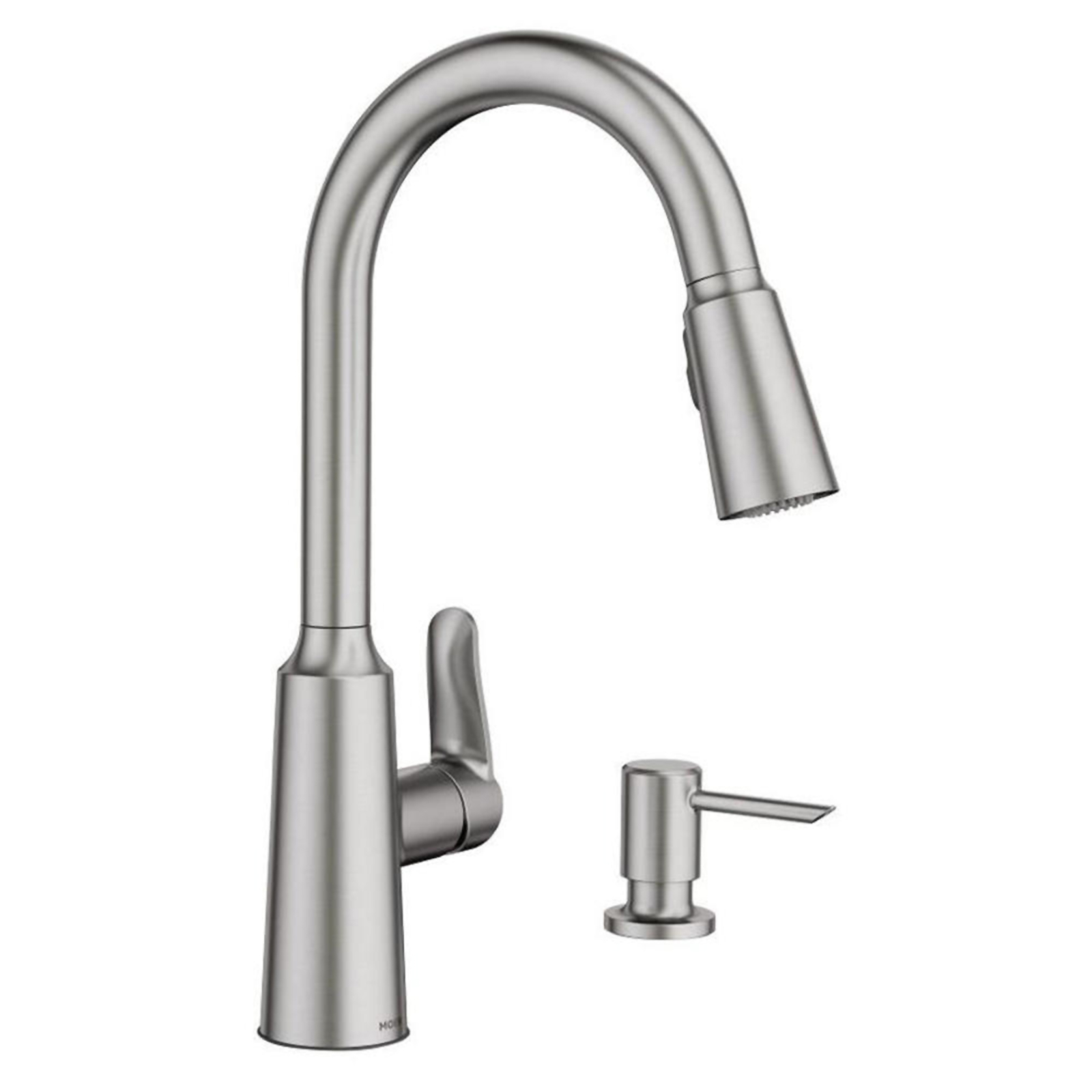 sears kitchen faucets island with stove top moen edwyn 15 quot one handle faucet marketplace