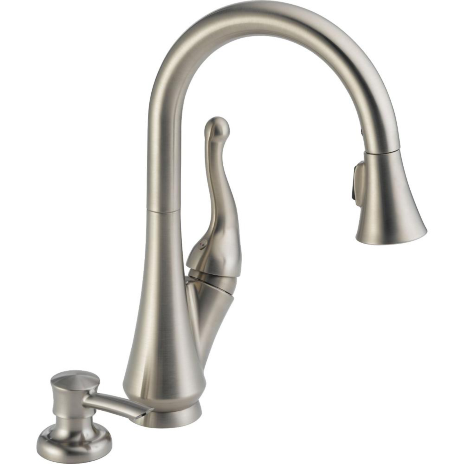 sears kitchen faucets set for girl delta faucet talbott 15 quot pull down