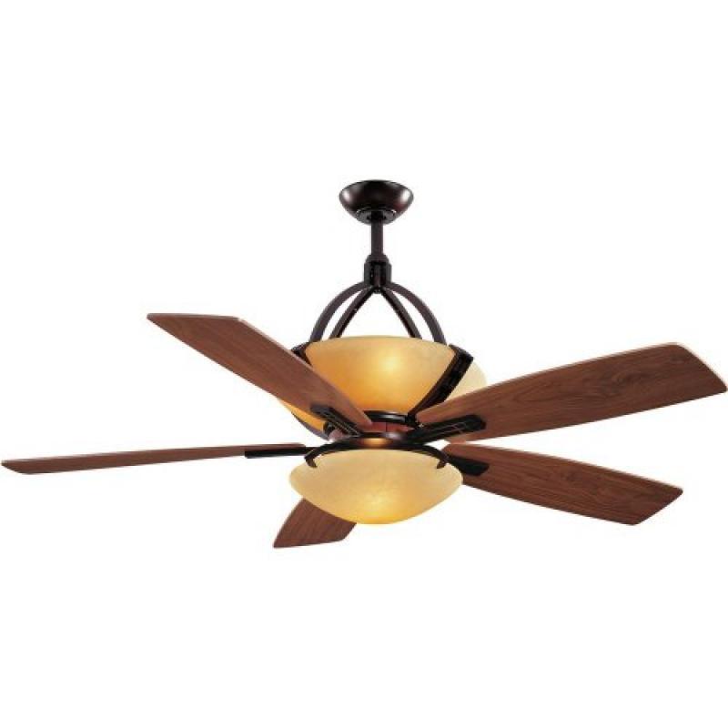 Hampton Bay Miramar 60 In. Weathered Bronze Ceiling Fan