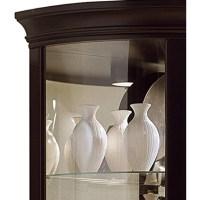 "Pulaski 17"" Wood Half Round Curio Cabinet - Sears Marketplace"