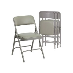 Cushioned Folding Chairs Childrens Desk And Chair Set India Furniture Kmart Flash 4 Pk Hercules Series Curved Triple Braced Double Hinged Gray Vinyl Upholstered