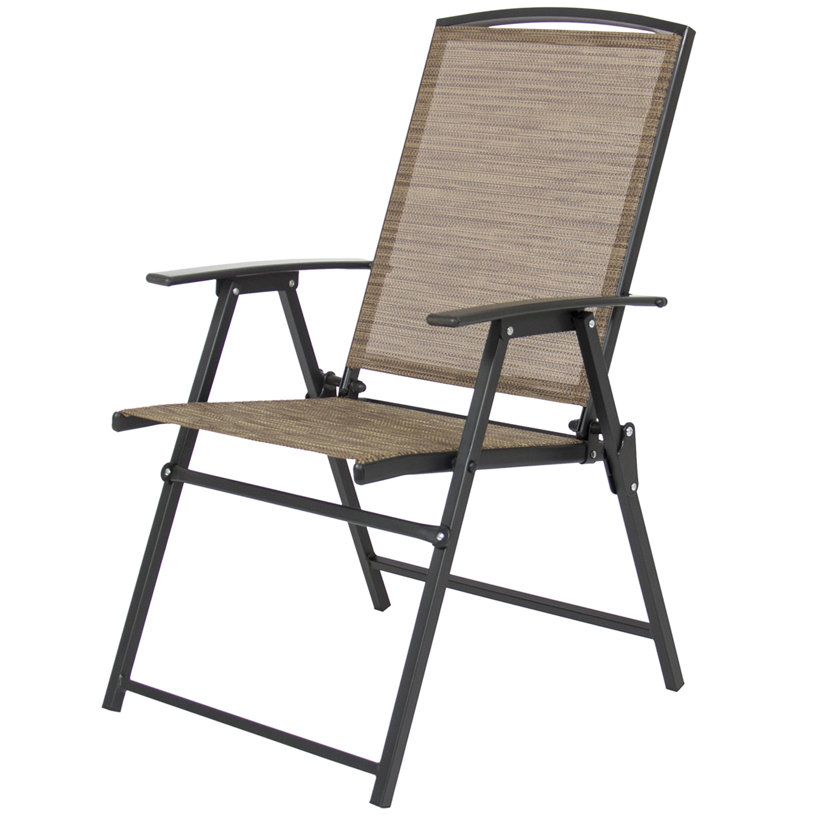 Folding Chairs With Umbrella Best Choice Products 6pc Patio Dining Set Sears Marketplace