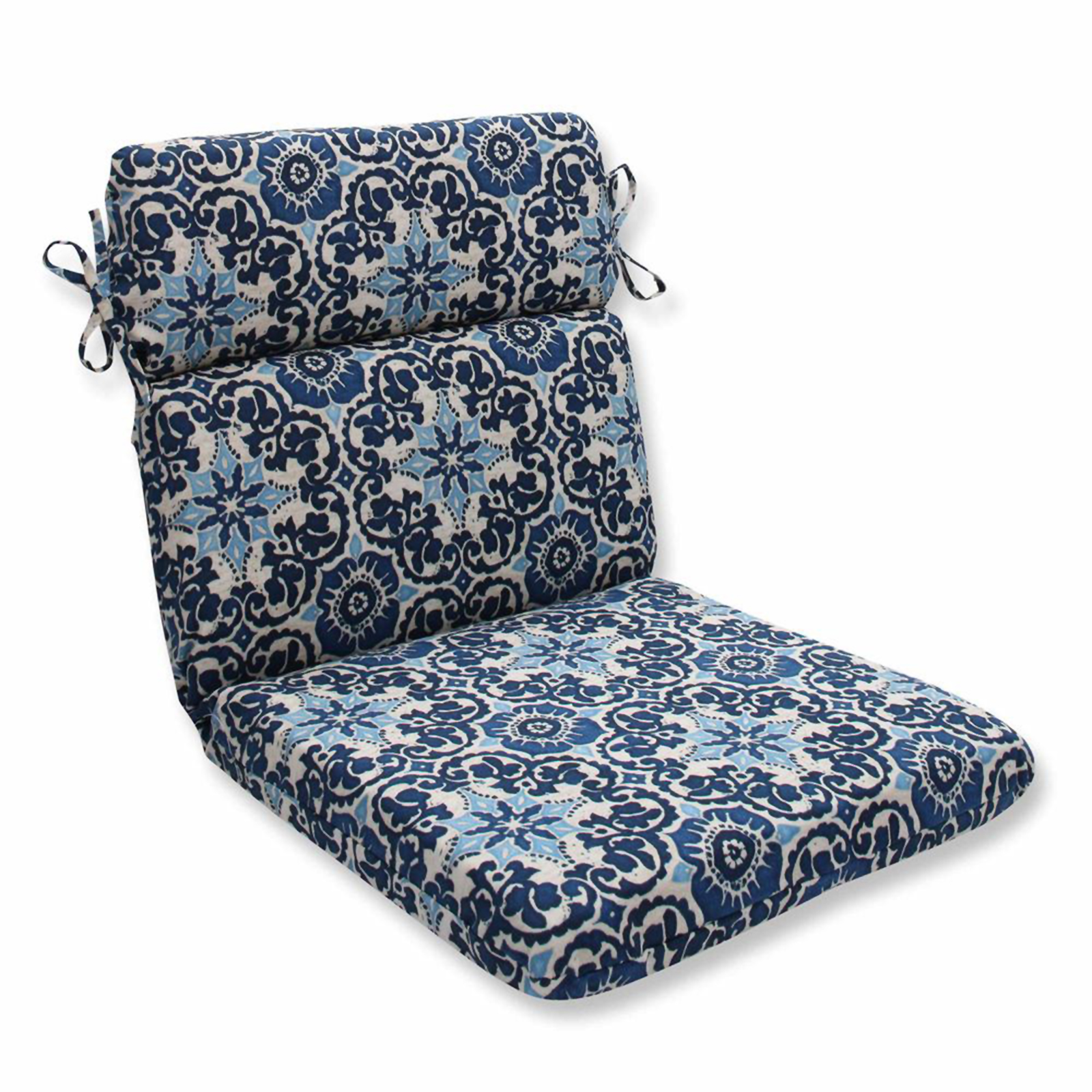 Pillow Perfect Rounded Corners Chair Cushion - Sears Marketplace