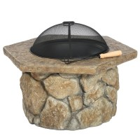 Christopher Knight Home Emmerson Outdoor Fire Pit - Sears ...