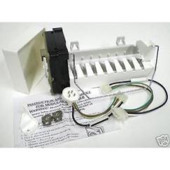 Ice Maker Diagram Kicker Hideaway Wiring Freezer Parts And Accessories Sears Supco Rim943 Replacement Icemaker For Whirlpool 4317943 D7824706q 61005508