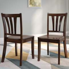 Dillon Chair 1 2 Back Support Chairs Dining Kitchen Kmart Corliving Sonax Side In Cappuccino Set Of