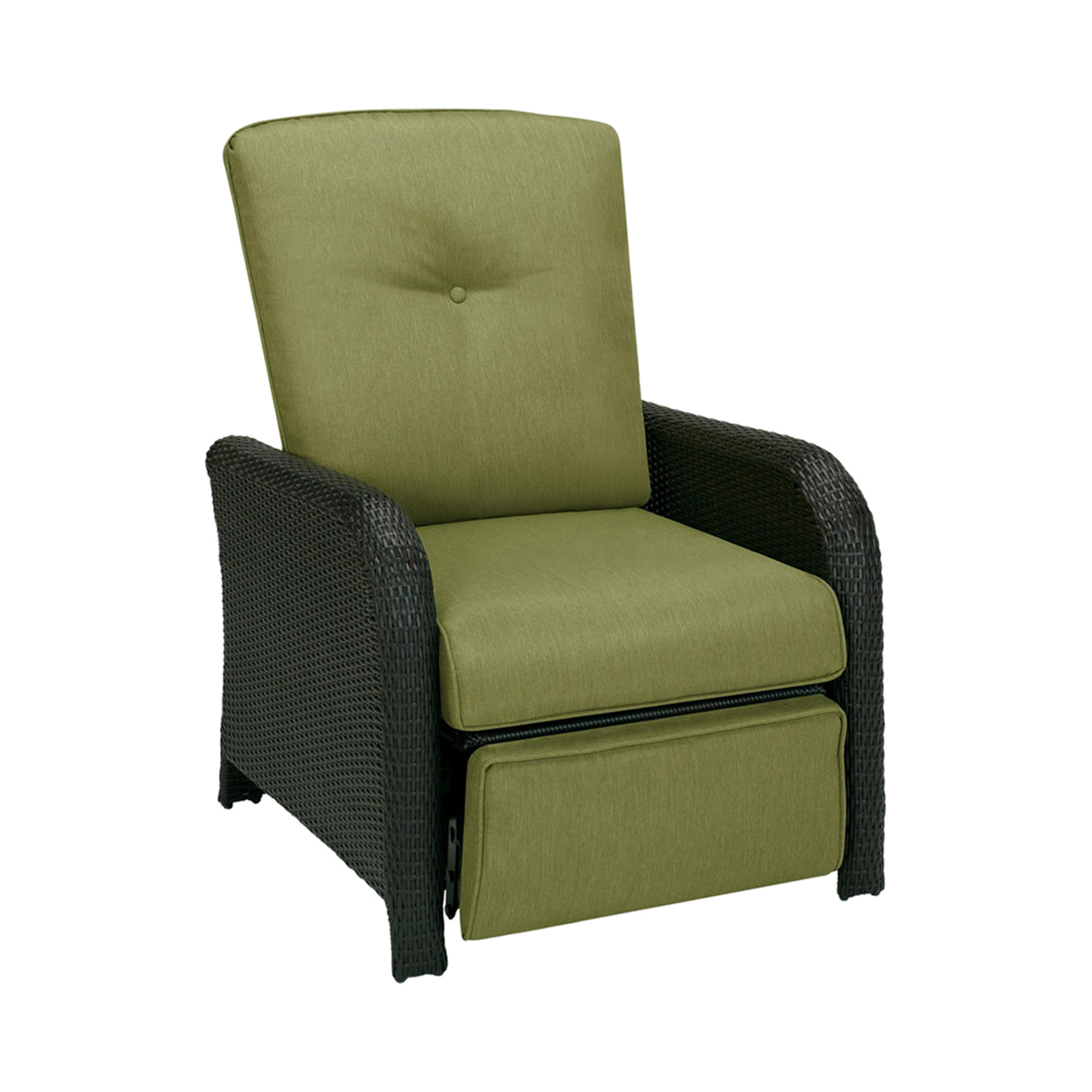 recliner patio chair oxo taupe walnut high chairs outdoor recliners kmart hanover strathmere luxury rich browncilantro green
