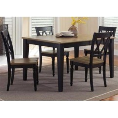 Al S Chairs And Tables Ikea Strandmon Chair Covers Liberty Furniture Rectangular Dining Table Set Sears Marketplace Fresco 5pc Driftwood Black