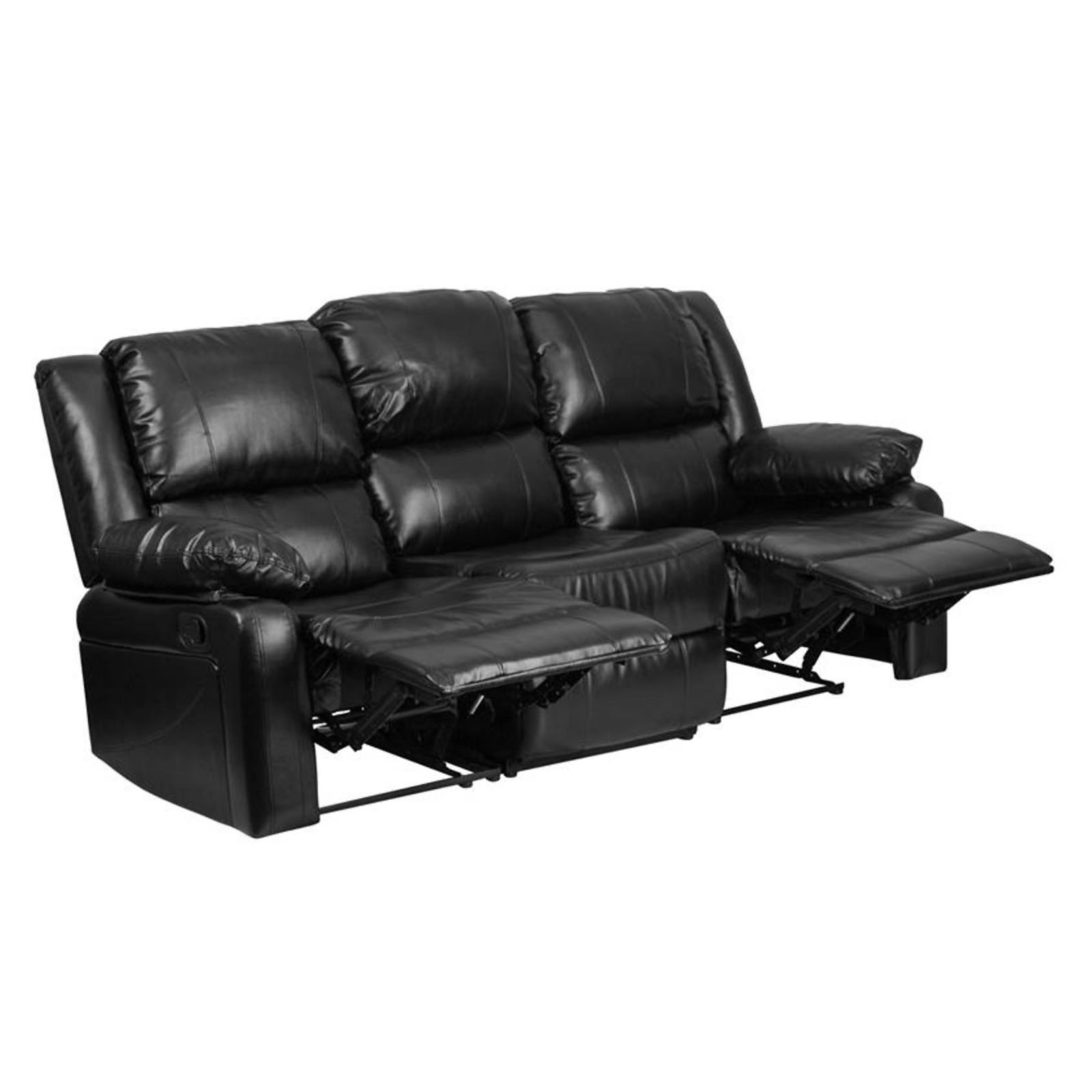 leather sofa bed sears clearance sale sectional sofas flash furniture black marketplace