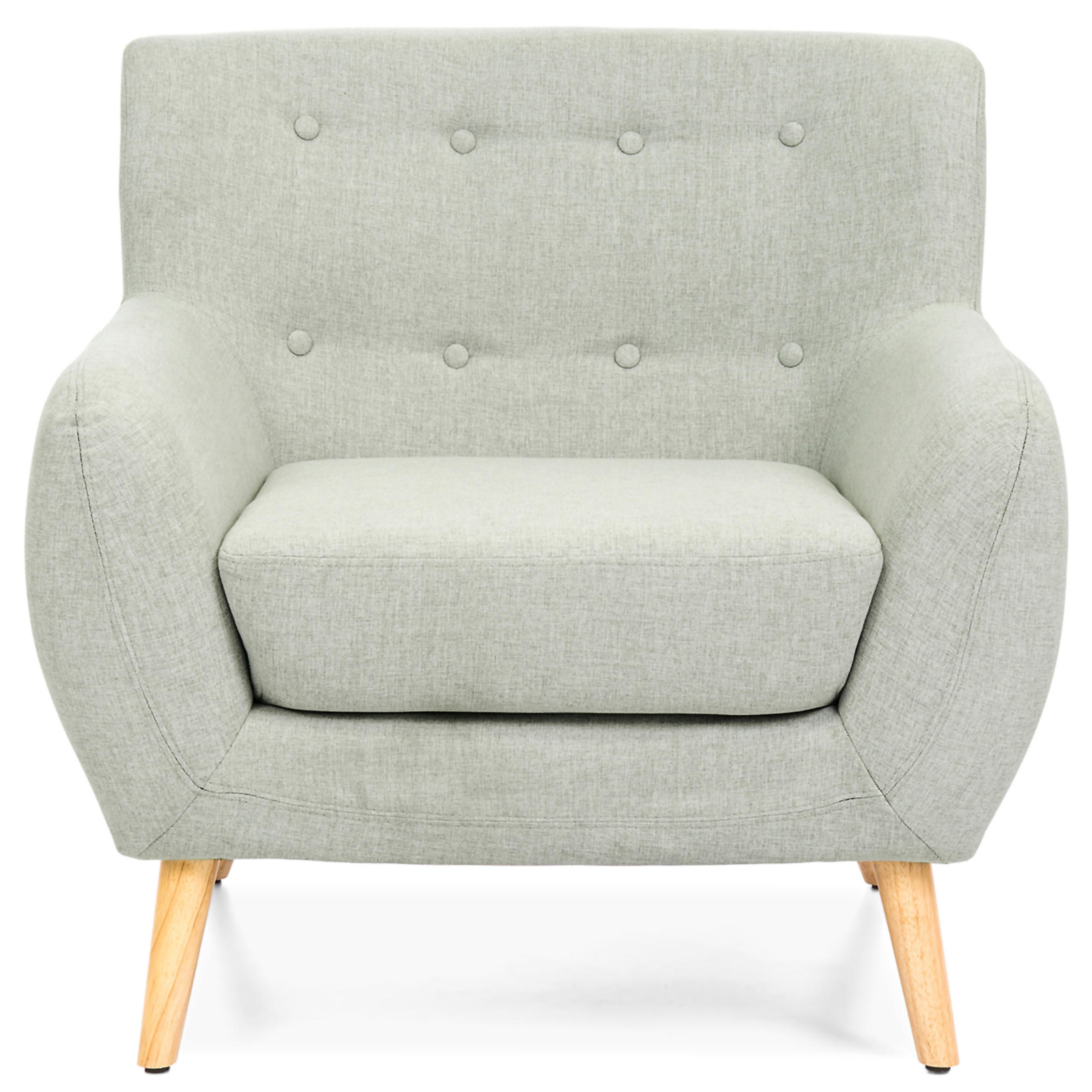 Best Choice Products 25 Mid Century Tufted Chair Sears