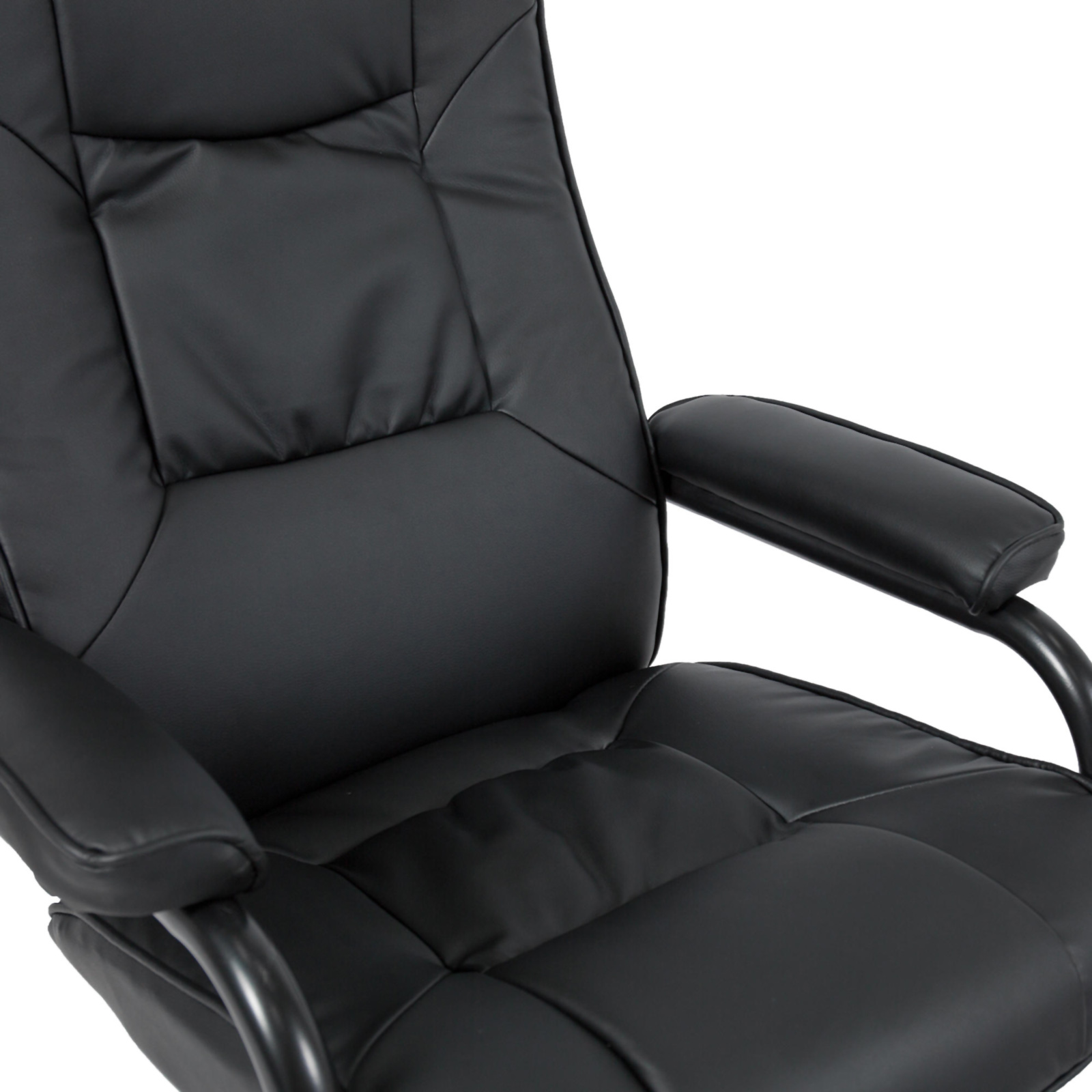 leather swivel recliner chair and stool rei low camp best choice products 26 w ottoman sears marketplace with