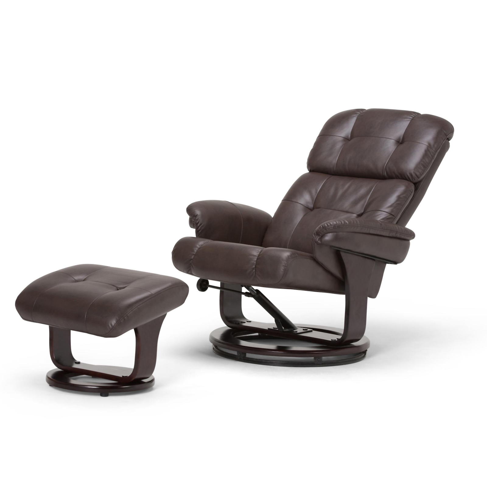 WyndenHall Westville Euro Recliner with Ottoman  Sears