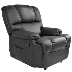 Big Living Room Chairs Boone High Chair Man Sears Costway Goplus Recliner Massage Sofa Deluxe Ergonomic Lounge Couch Heated W Control Black